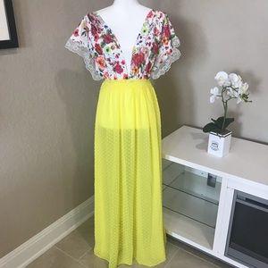 Vintage Sheer Summer Dress